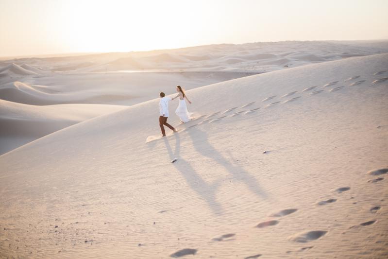 Sand dune engagement session,  california fine art photographer